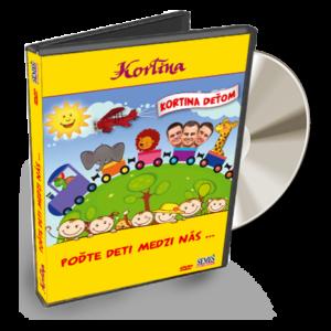 Kortina deťom DVD